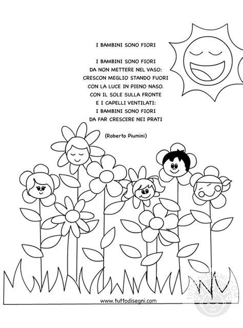 fiori roberto i bambini sono fiori roberto piumini tuttodisegni