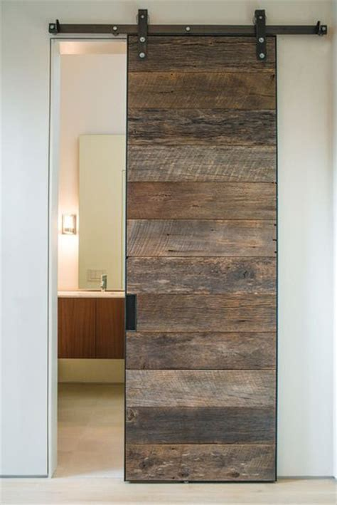 sliding barn doors in homes minimalist concrete design for home modern cement decor