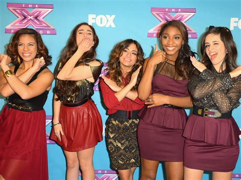 x factor group fifth harmony attempts to make a name for simon cowell signs quot x factor quot girl group fifth harmony