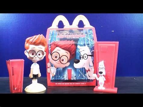 Mister Peabody And Sherman Set Happy Meal Mc Donalds Mcd Mekdi Murah 2014 mr peabody sherman set of 2 mcdonalds happy meal toys 1 2 review