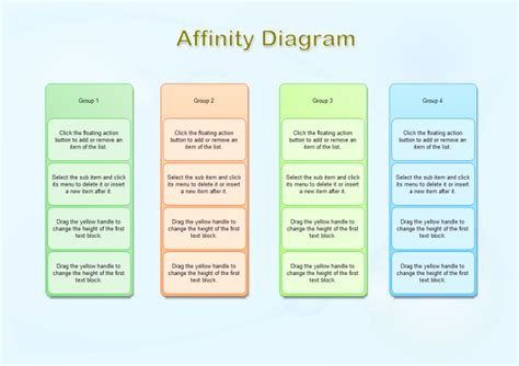 Affinity Diagram Template Download