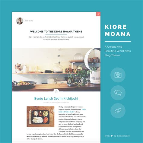 beautiful blog design kiore moana our newest premium wordpress blog theme with