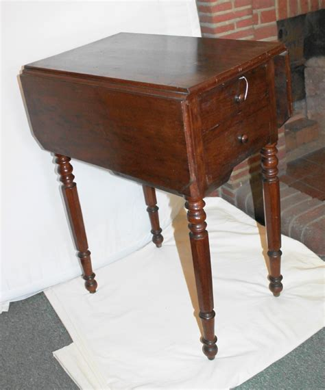 small work tables for sale small 19th century mahogany drop leaf work table 326273