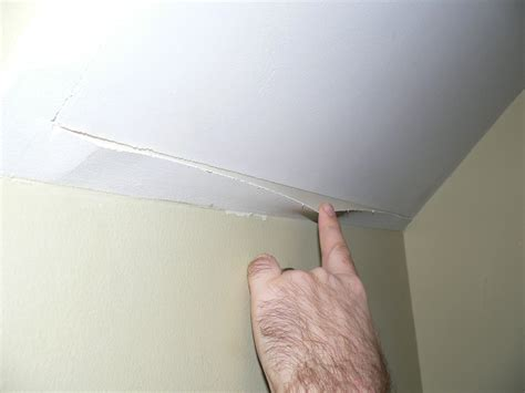 fixing cracks in ceiling cracks in ceiling corners chaseggett