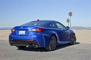 2015 Lexus Rcf 2015 Lexus Rcf Passenger Rear Three Quarters Photo
