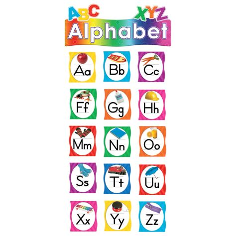 printable alphabet board alphabet mini bulletin board tcr4865 teacher created