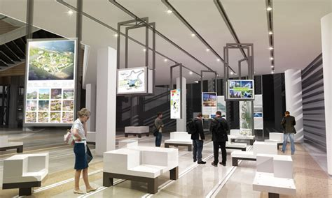 Exhibition Interior Design by The Design For Incheon Planing Exhibition