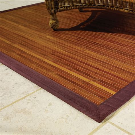 bamboo floor mat robinson house decor