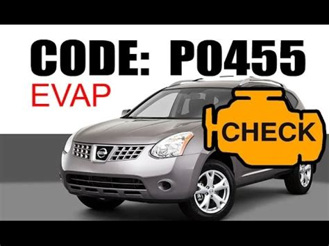 nissan check engine light codes code p0455 p0442 2007 2009 doovi
