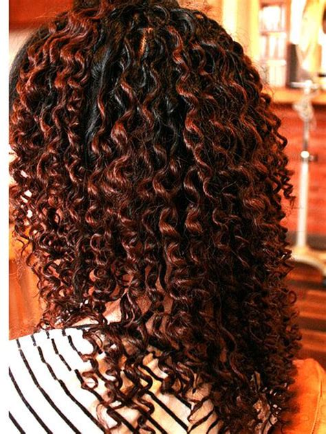 pictures large curl spiral perm spiral perm meduim to tight curl hairstylegalleries com
