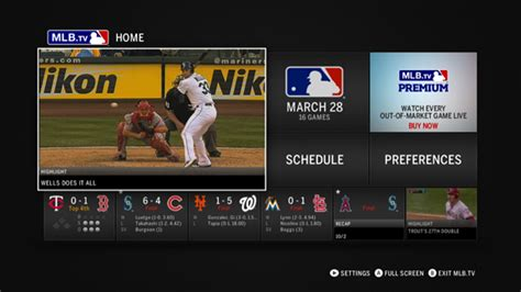 mlb tv apk mlb tv epix apps are coming to the xbox one techguysmartbuy