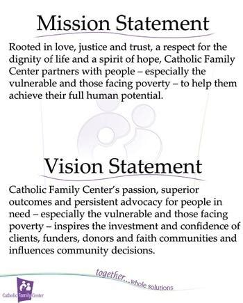 how to write a mission statement for a church