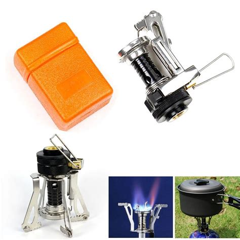 Ultralight Mini Gas Stove Kompor Gas Mini Ultralight ultralight outdoor backpacking canister foldable mini cing stove gas burner