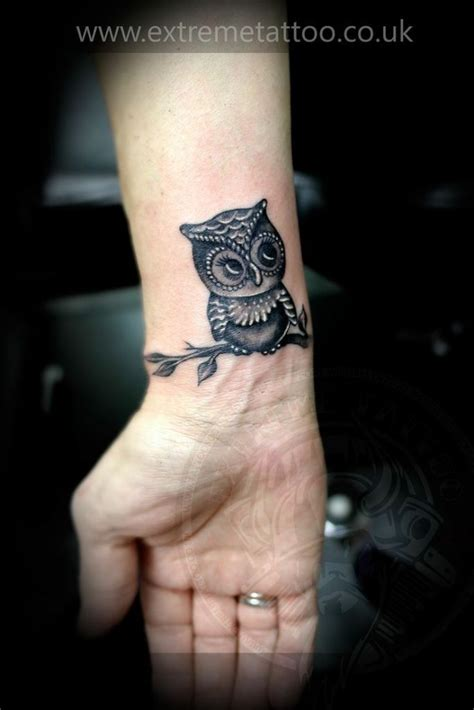 owl wrist tattoo 36 attractive owl wrist tattoos design