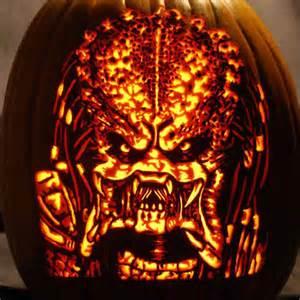 predator 40 best pumpkin carvings of monsters and