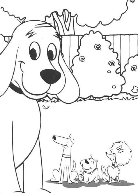 spanish family coloring page kolorowanki clifford do wydruku dla dzieci malowanki