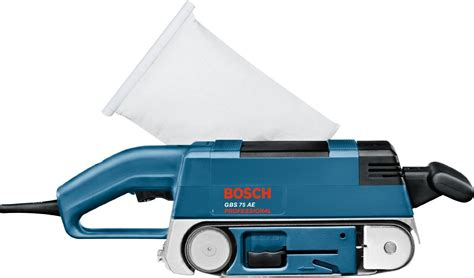 Ponceuse à Bande Bosch 1163 by Ponceuse 224 Bande 233 Lectrique 75x533mm 3 4kg 750w Gbs 75 Ae