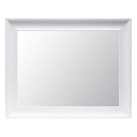 threshold flat mirror white i target