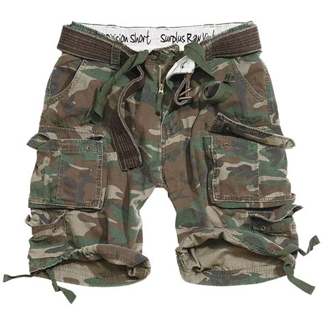 army pattern cargo shorts surplus division mens cargo army military style shorts