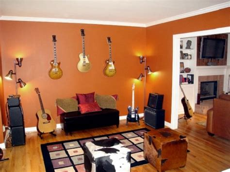 living room music rockstar room ideas fit for any age