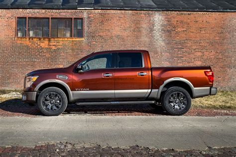orange nissan truck 2018 nissan titan xd diesel price and release date best