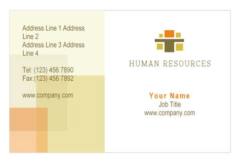 consultant business cards templates hr consulting print template from serif