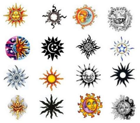 cool sun tattoo designs sun tattoos designs and ideas regarding sun