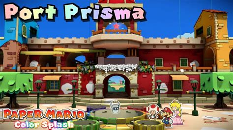 port color paper mario color splash 100 repainted port prisma