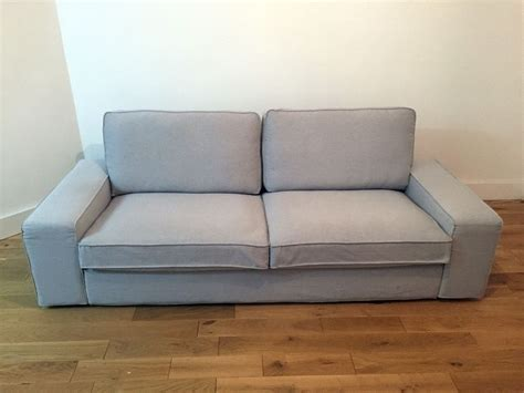 sofa kivik immaculate condition 3 seater ikea kivik sofa light grey