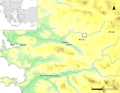Landscape Evolution Definition Late Quaternary Landscape Evolution In The Kula Basin