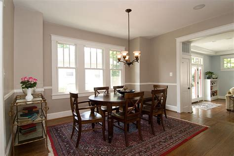 dining room remodel 1920s craftsman style home renovation old dominion building group