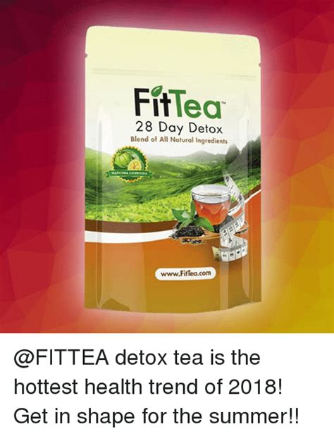 28 Detox Tea Fit Recipe by Fit Lea 28 Day Detox Blend Of All Ingredients