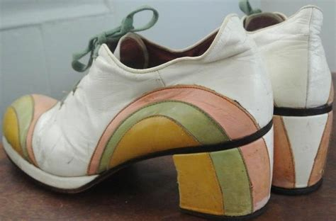 Trend Platform Shoes Bglam 1970s vintage mens platform shoes glam rock disco rainbow
