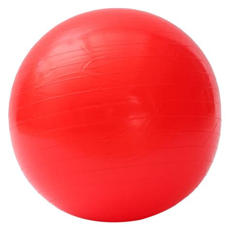 new 85cm yoga fitness exercise ball with air pump red tmart