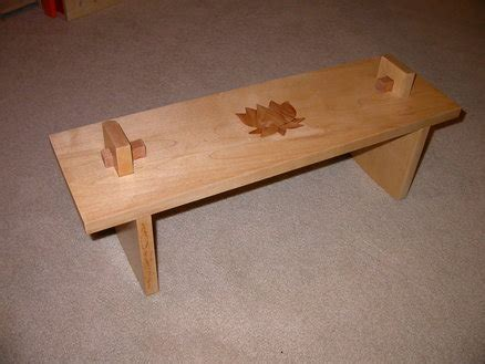 meditation bench pattern meditation bench by ben griffith lumberjocks com