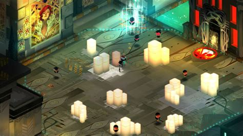 ps4 transistor transistor review cyberpunk and talking swords collide