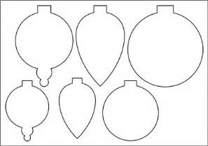Bauble Template Printable by Paper Decorations