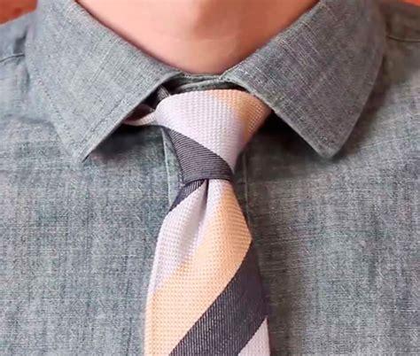 como hacer el nudo para corbata c 243 mo hacer los nudos de corbata paso a paso