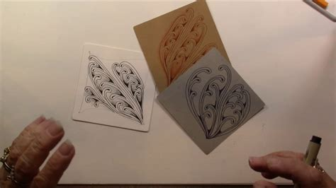 zentangle pattern evoke evoke tangle pattern lesson 212 youtube