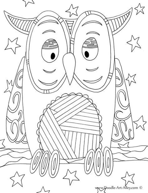 free coloring pages of doodle art flowers