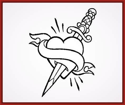imagenes de corazones y flores rosas y corazones para dibujar a lapiz tattoo design bild