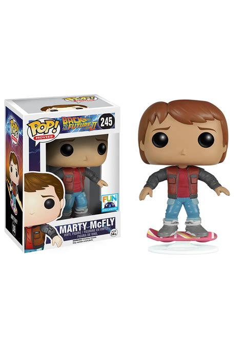 Figure Funko Pop funko pop marty mcfly back to the future 2 vinyl figure