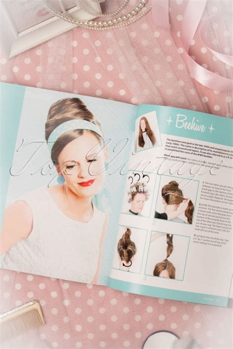 vintage hairstyles book by lauren rennells vintage hairstyling retro styles with step by step
