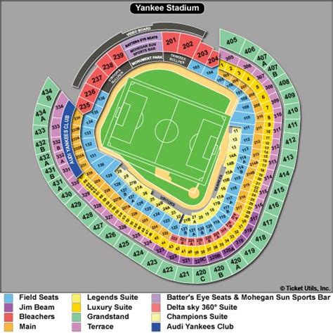 yankee stadium floor plan yankee stadium seating map brokeasshome com