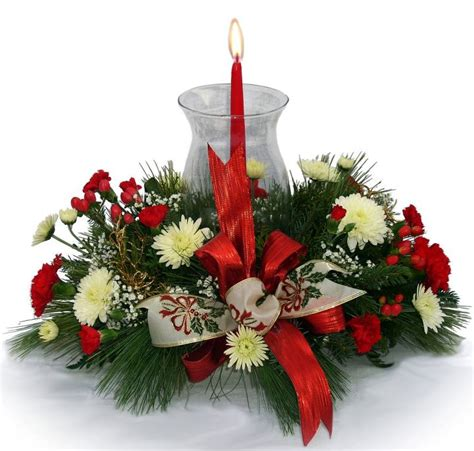 live xmas centerpieces creative flower shops and their floral designs