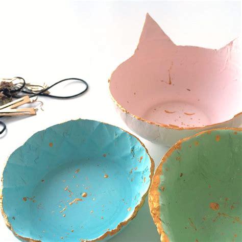 lufttrocknende modelliermasse bemalen schalen aus modelliermasse handmade kultur
