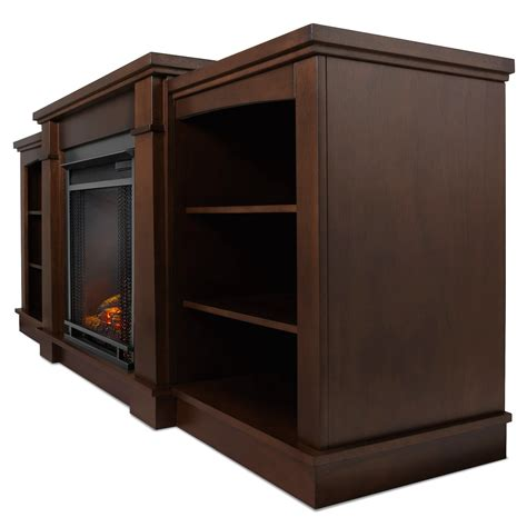 real hawthorne electric fireplace in espresso
