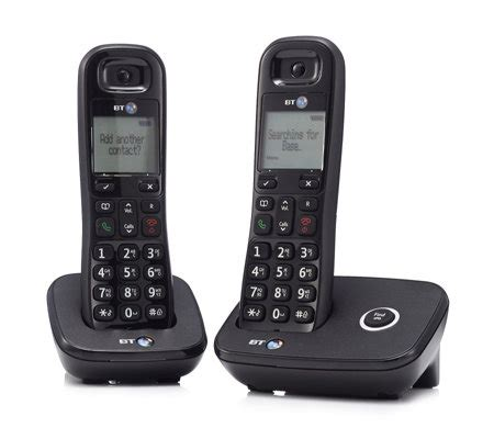 Phone Lookup Uk Landline Bt 1100 Digital Cordless Dect Home Phone Qvc Uk