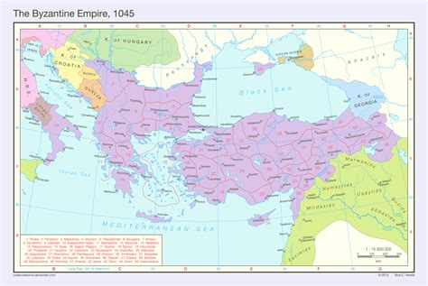 europe and the byzantine empire map 1000 the byzantine empire 1045 by undevicesimus on deviantart