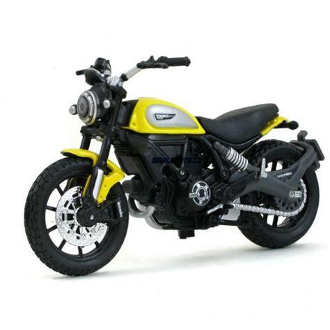 Maisto Real Motor Cycle 03 66 maisto ducati scrambler 1 18